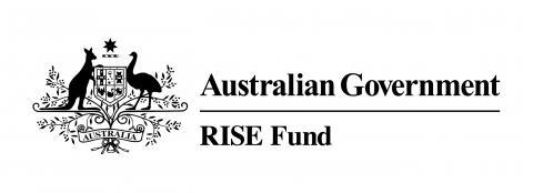 australian government rise fund logo